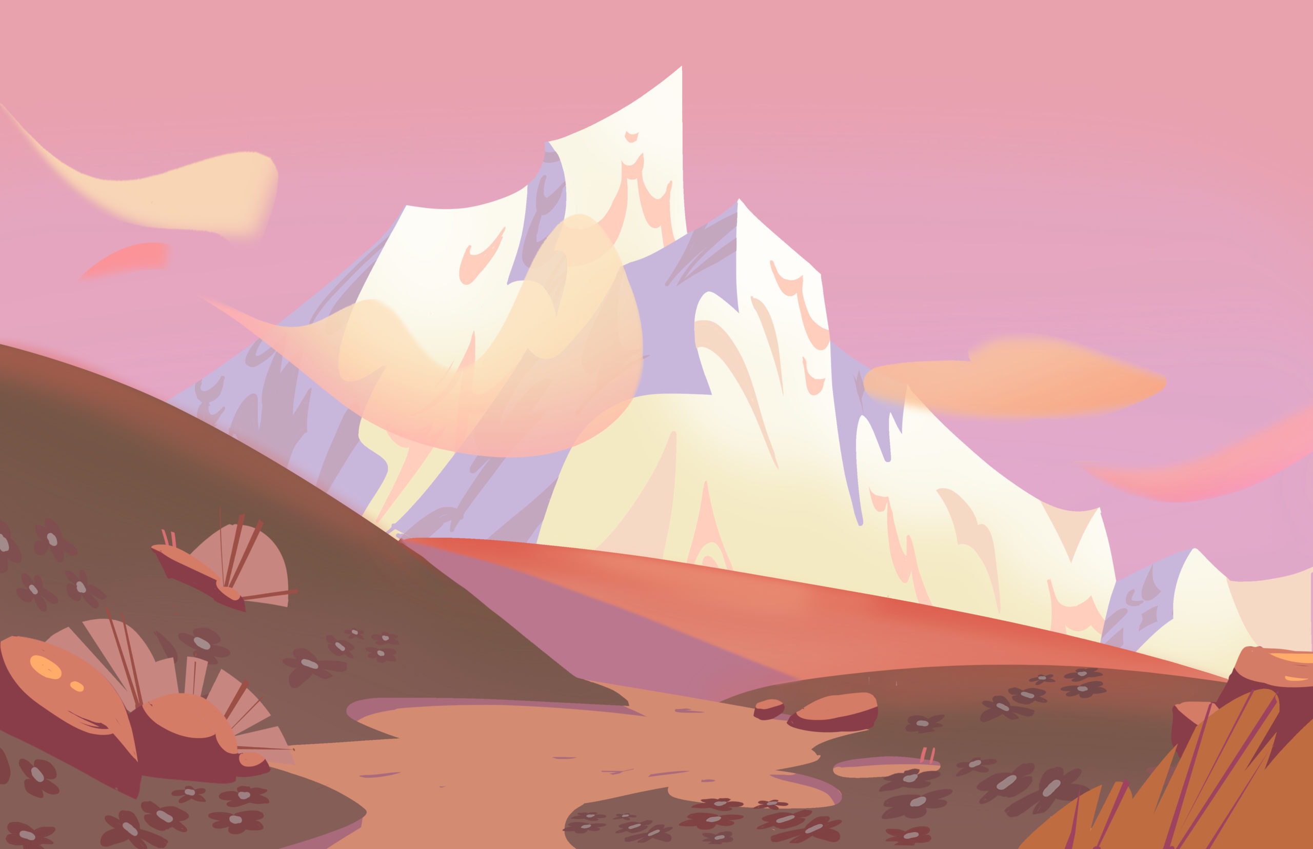 mountains_sunset